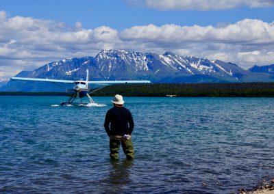 mit Wasserflugzeug zum Brooks Camp