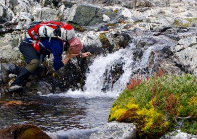 frisches Quellwasser; Ostgrönland