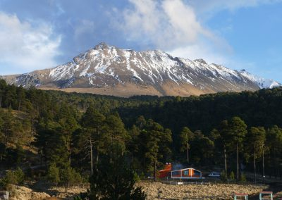 Vulkan Nevado de Toluca