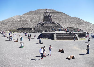 Teotihuacan Sonnenpyramide