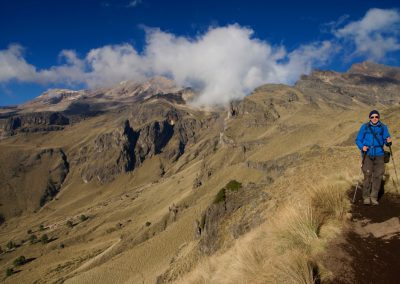 Besteigung des Vulkan Ixtaccihuatl
