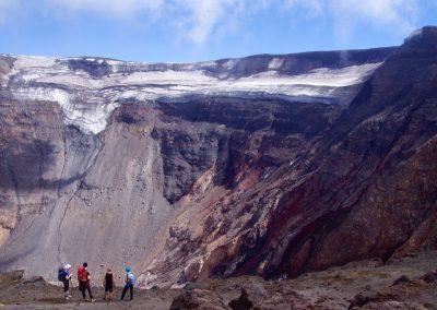 Kraterrand des Tolbatschik