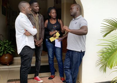 Teamtraining in Uganda