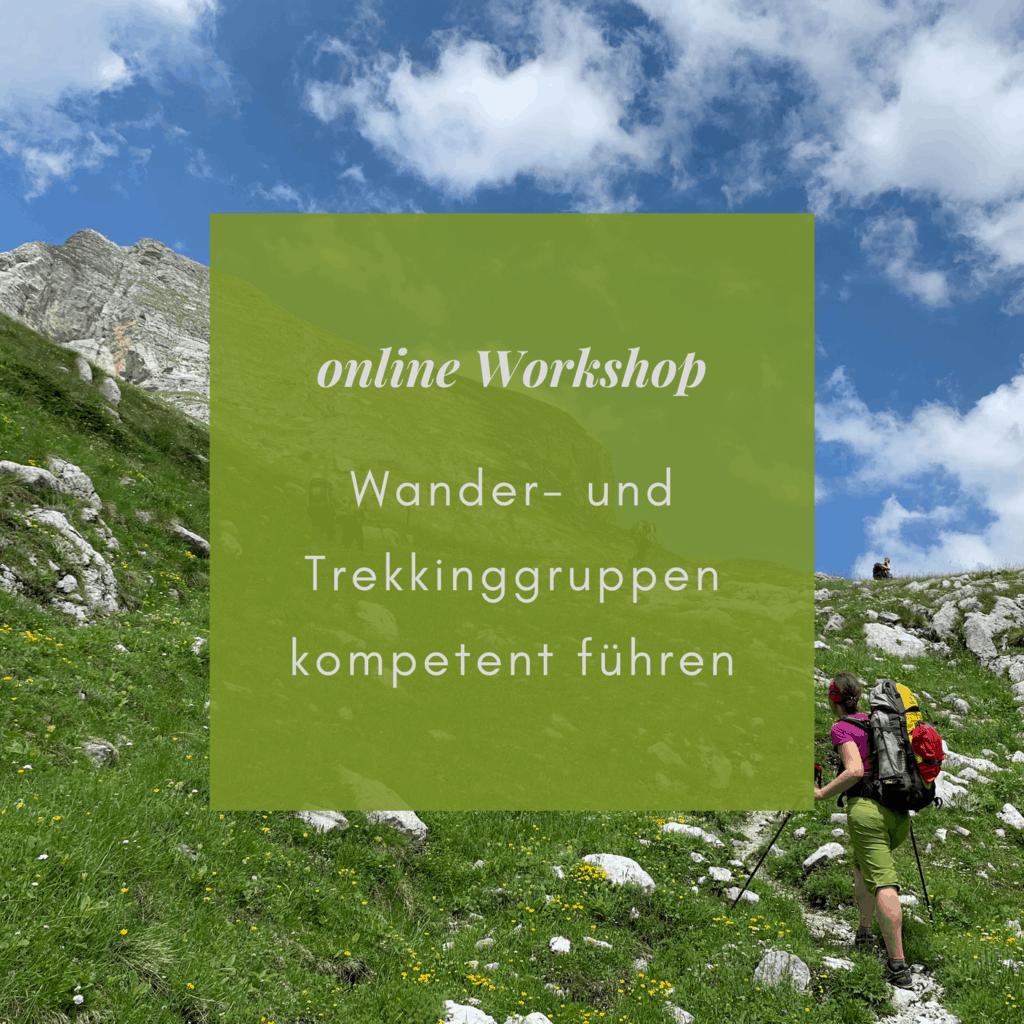 Workshop Wanderungen kompetent führen