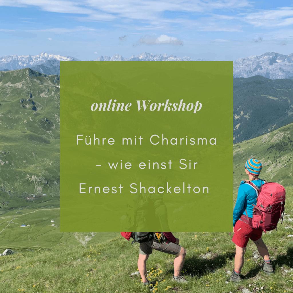 online Workshop führen mit Charisma